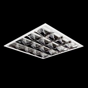 Lumin ria fluorescente de embutir 4x16w cod tlfe 2001 - Luminaria fluorescente estanca ...